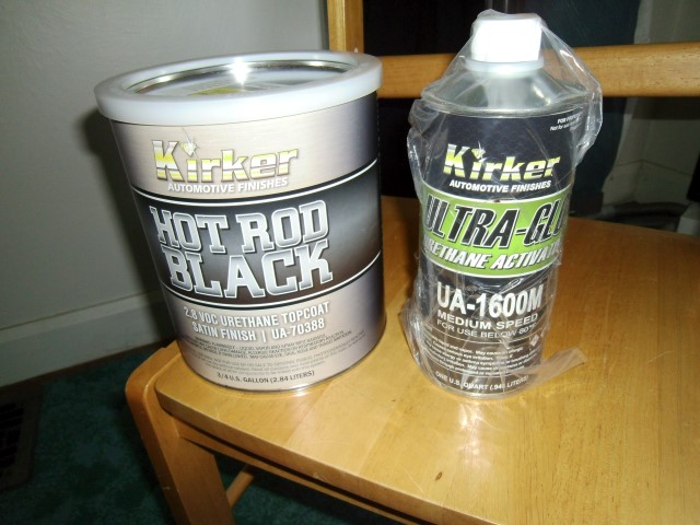 For Sale Satin Finish Kirker Hot Rod Black Paint Kit For A