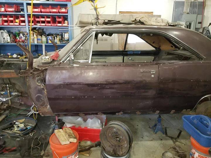 67 Dodge Dart Gt Shell 1500 Not Mine For A Bodies Only Mopar