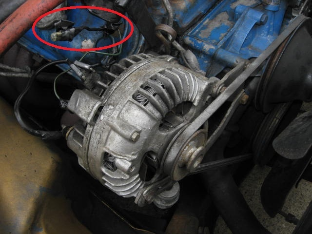 Funky Alternator Wiring