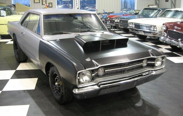 69 Hood With Side 340 Louvers Scoop For A Bodies Only