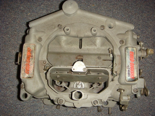 Carter ThermoQuad 1,000 cfm CS carb and jet kit | For A