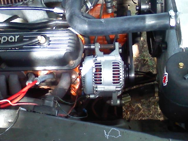 Denso Alternator Installation For A Bodies Only Mopar Forum