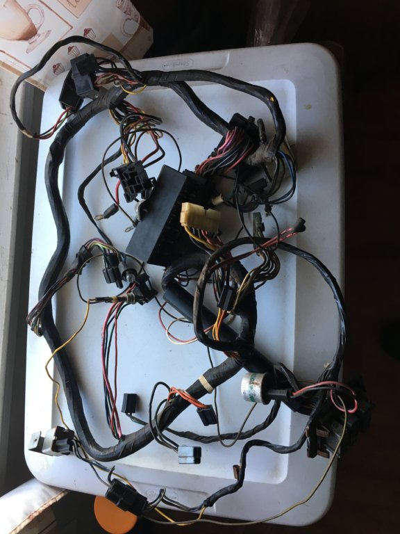 SOLD] - 1972 Duster/Demon Underdash Wiring Harness | For A Bos ... on under dash lights, 2014 camaro auxiliary gauge wire harness, under dash power supply, under dash gauges, under dash radio, under dash clutch master cylinder, 86 ford ranger engine harness, 1987 chevy dash harness, under dash mounting bracket, 2011 camaro auxiliary gauge wire harness, 2012 f250 dash wire harness,
