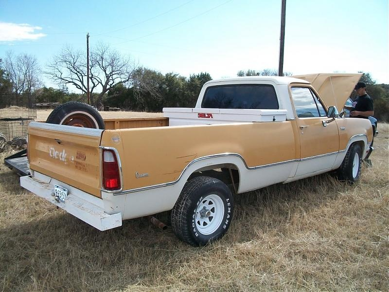 Survivor 1972 Dodge D100 Found