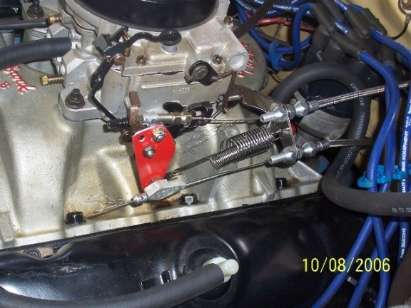 Pictures Of Throttle Cable Brackets For A Bodies Only