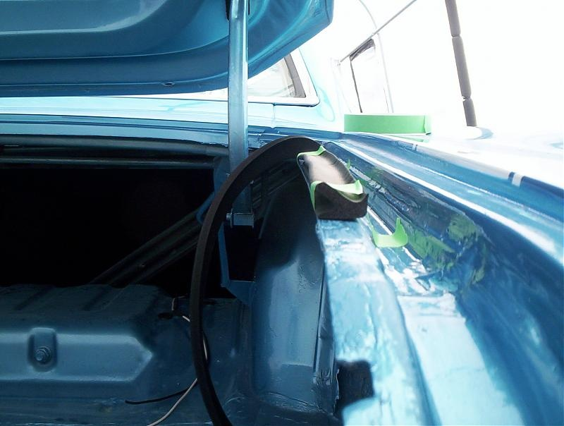 Trunk Seal Install For A Bodies Only Mopar Forum