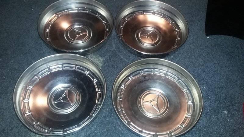 Mopar Dog Dish Hubcaps For Sale