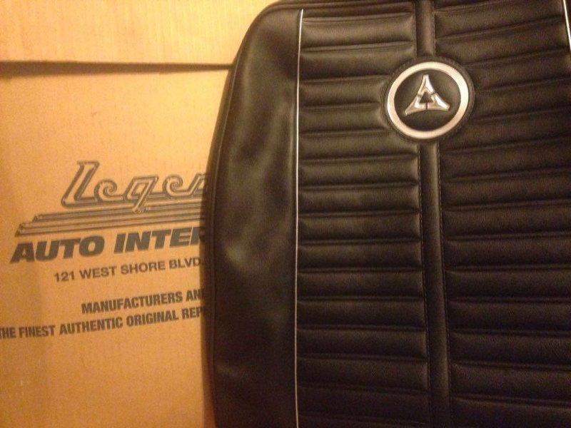 FOR SALE 1964 Dart G T Legendary seat covers