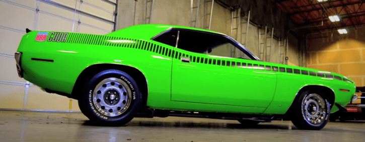 Is this cuda in sassy grass green? | For A Bodies Only Mopar Forum