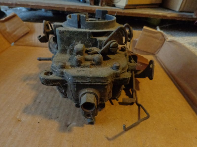 Carter BBD type for 68 barracuda 318   For A Bodies Only Mopar Forum