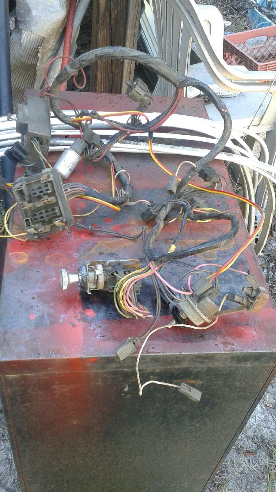 sold 63 valiant dash wiring harness for a bodies only mopar forum