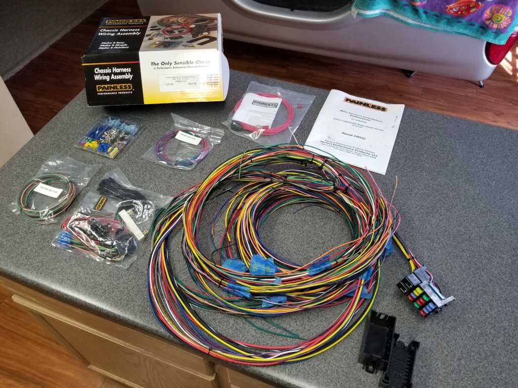 Peachy Painless Wiring Harness Mopar Basic Electronics Wiring Diagram Wiring Database Obenzyuccorg