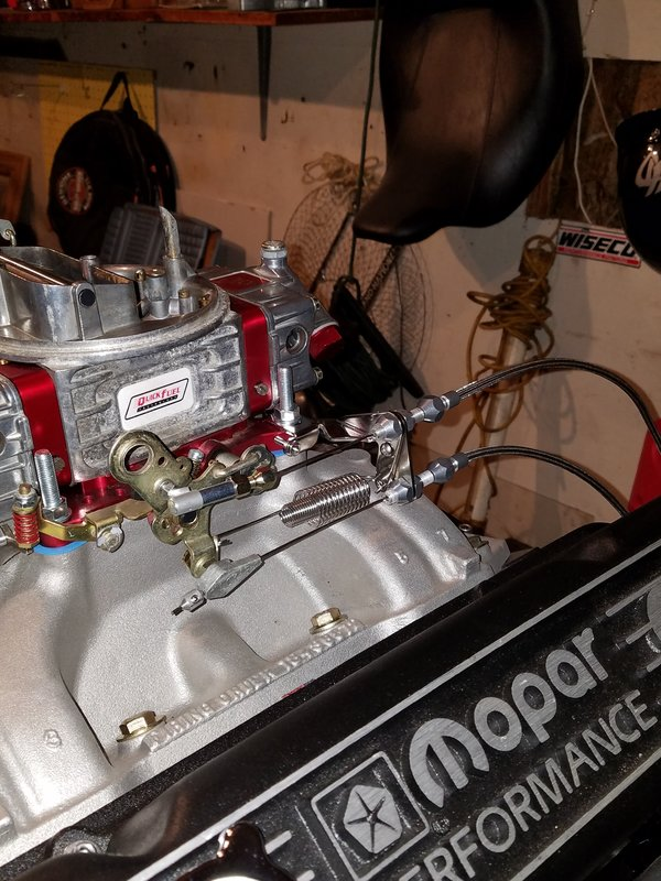 440 Lokar Throttle And 727 Kickdown For A Bodies Only