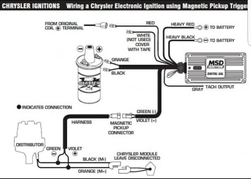 Msd 6al Wiring Diagram For Chevy