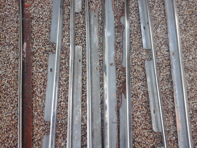 FOR SALE] - A & B body door panel mouldings | For A Bodies