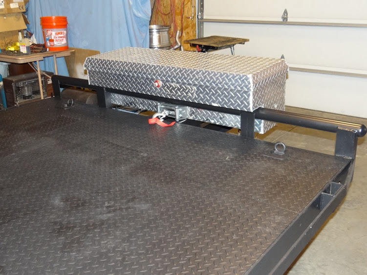 Creative ideas for a trailer winch mount / battery box