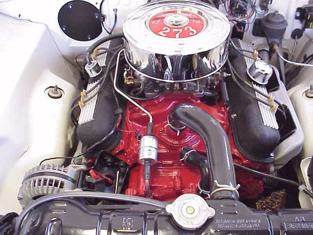 Image result for 66 mopar 273 commando engine