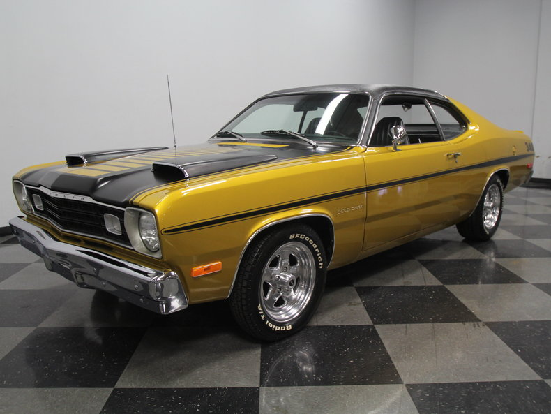 Twin Scoops On 73 Duster For A Bodies Only Mopar Forum