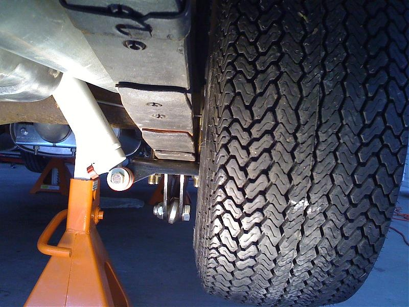 14 Inch Tires >> Anyone have a rear tire shot of 255/60R15 tires?   For A ...