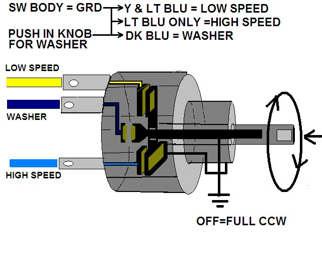painless wiring diagram wipers painless wiring diagram battery painless wiper switch | for a bodies only mopar forum #13