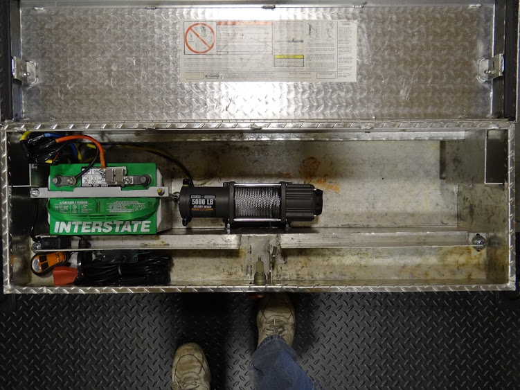 Creative ideas for a trailer winch mount / battery box? | For A