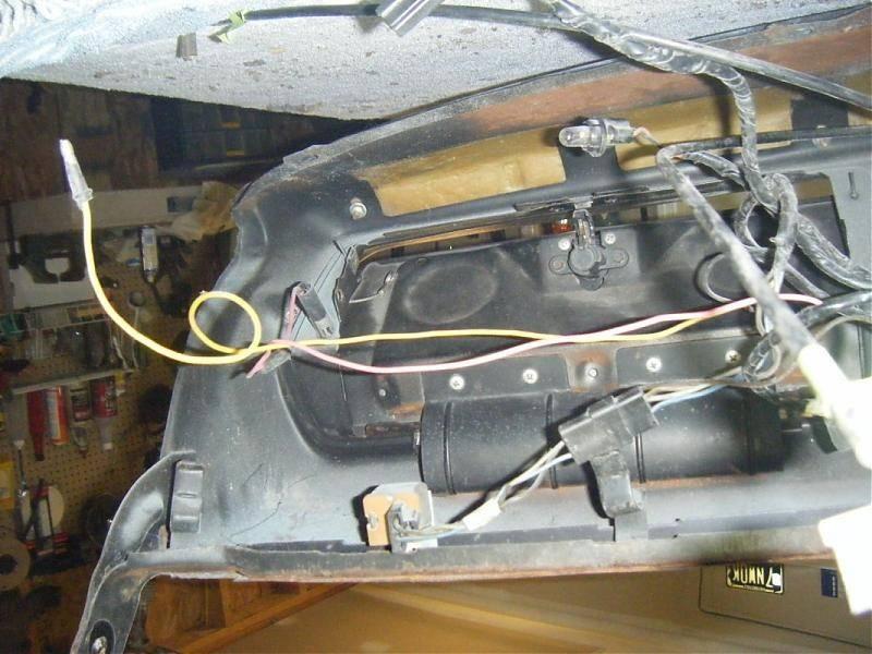 Dash Wiring Help Please
