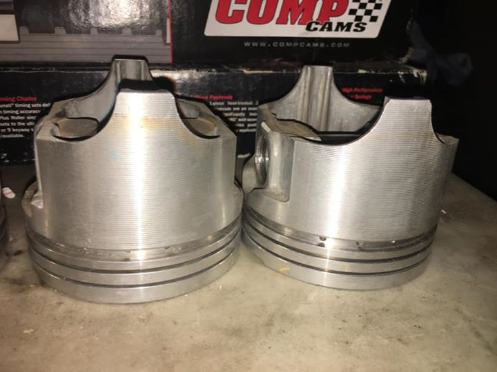 SOLD] - 340 +030 Forged TRW Pistons | For A Bodies Only