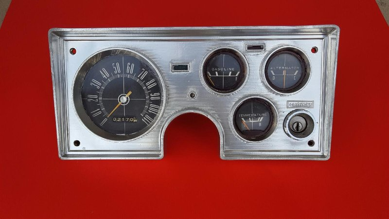 SOLD] - 1964 Plymouth Barracuda / Valiant Instrument Panel