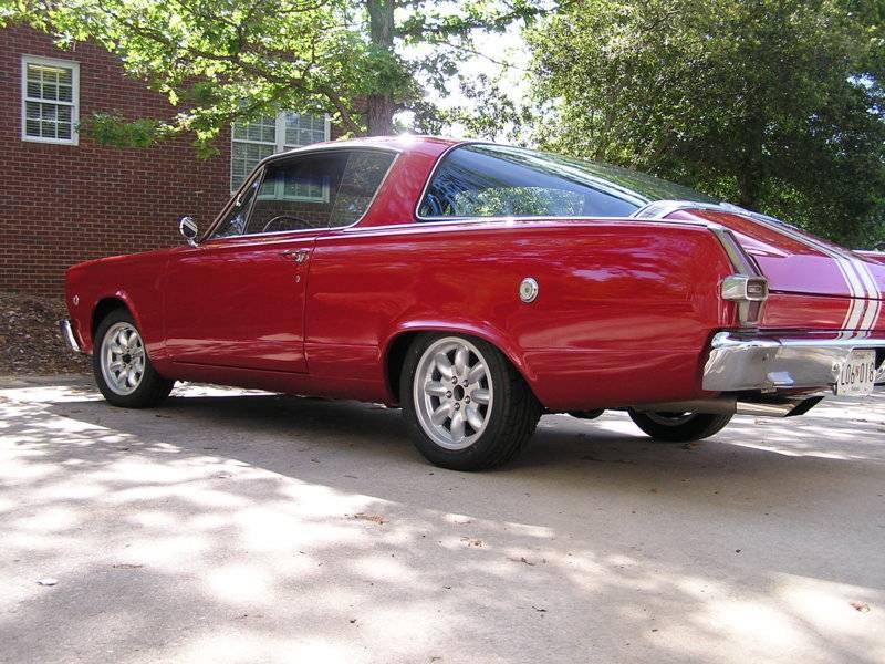 66Cuda ds low rear.JPG