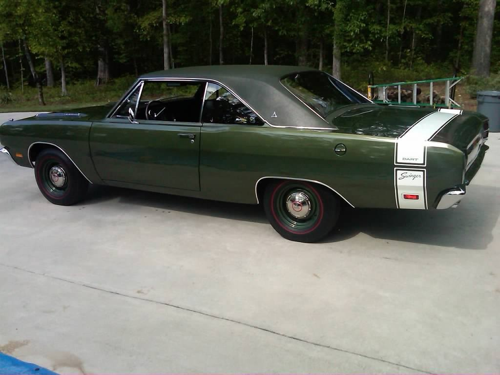 For Sale 1969 Dodge Dart Swinger 340 4 Speed For A