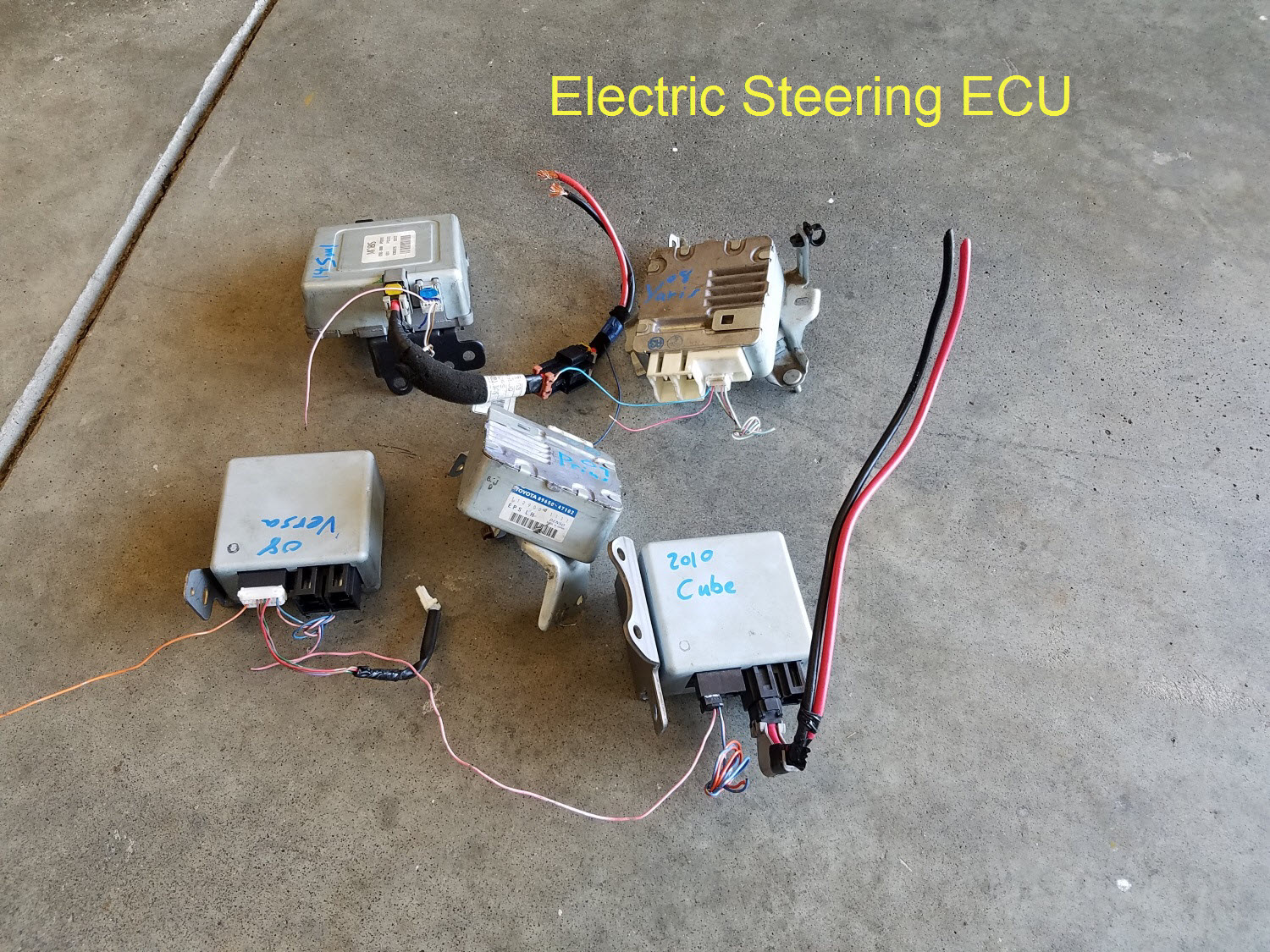 Electric Power Steering Wiring Diagram Library 196567 Bb Pump Corvette Parts And Accessories 35 With Fail Safe No Ebay Module