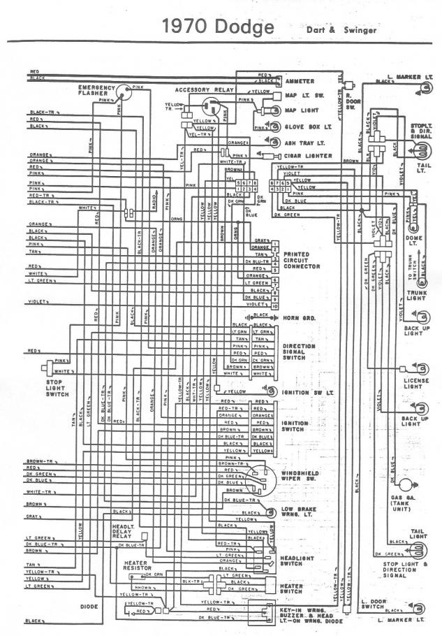 70 Dart Wiring Diagram