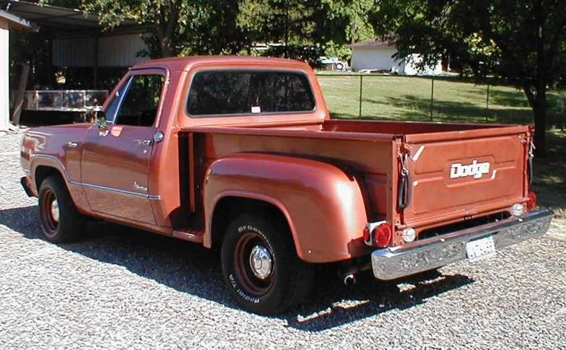 1973 Dodge D100 Big Block 2wd Shortbed Stepside For A Bodies Only