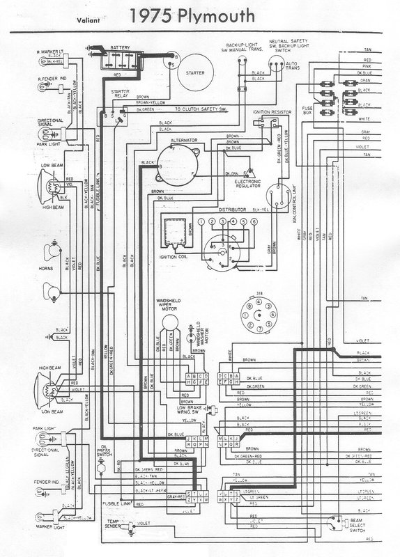 76 duster wiring diagram for a bodies only mopar forum 1975 plymouth duster wiring diagram at readyjetset.co