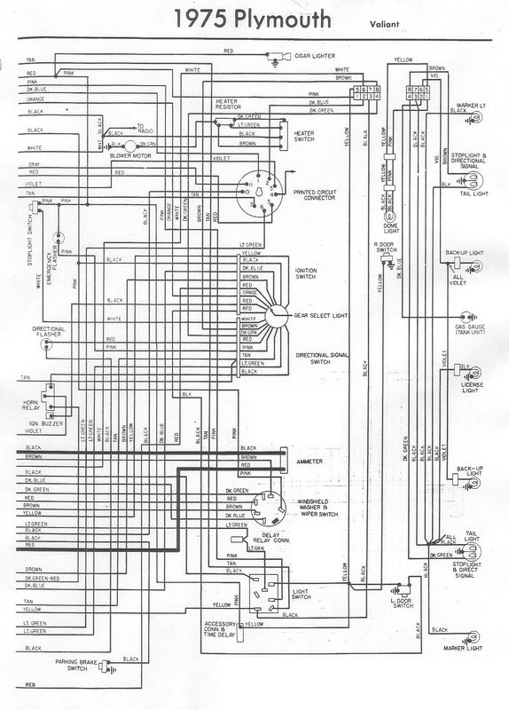76 duster wiring diagram for a bodies only mopar forum