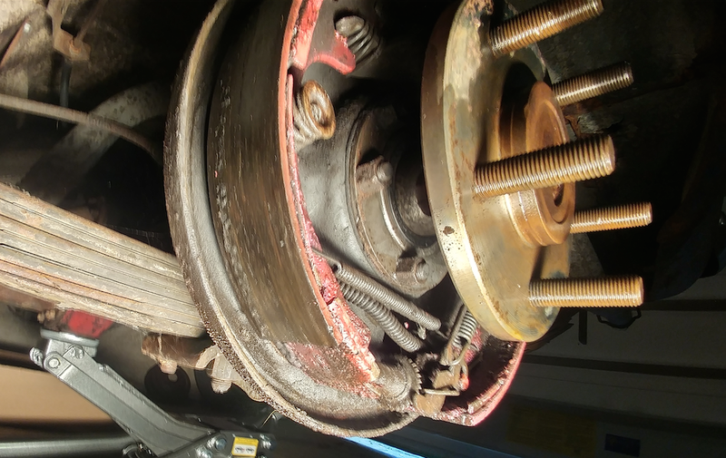 Brake shoes help (8 3/4 BBP) | For A Bodies Only Mopar Forum