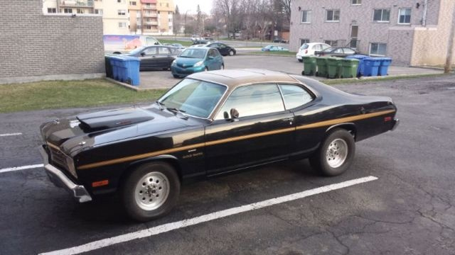 for sale 1974 duster sunroof ultra rare for a bodies only mopar forum. Black Bedroom Furniture Sets. Home Design Ideas