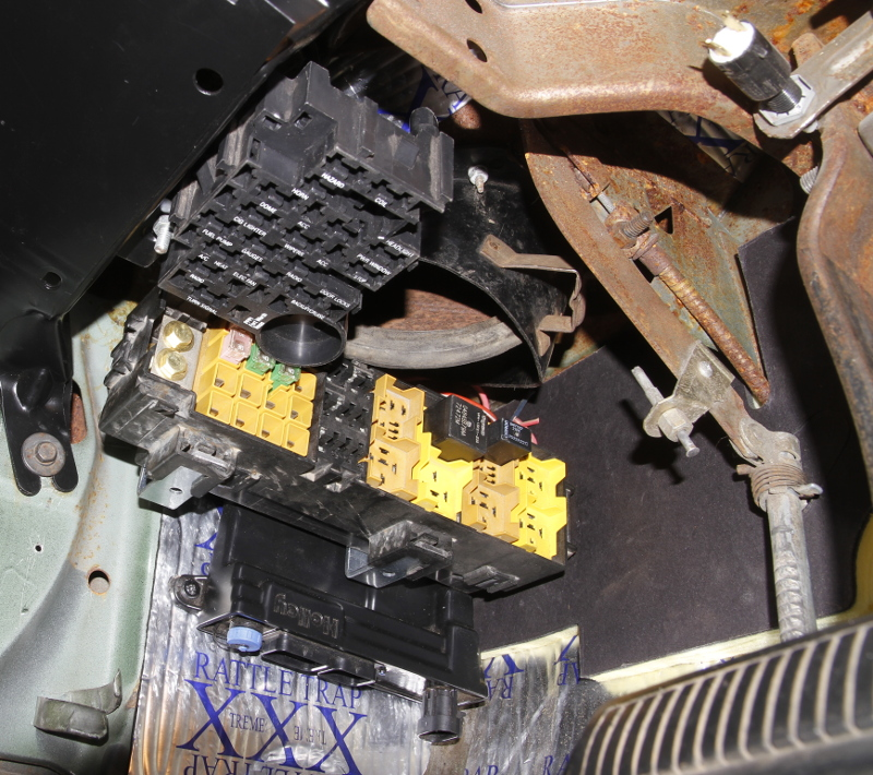 Fuse Box Switch Up Or Down : Aftermarket fuse box mounting location b body dhw