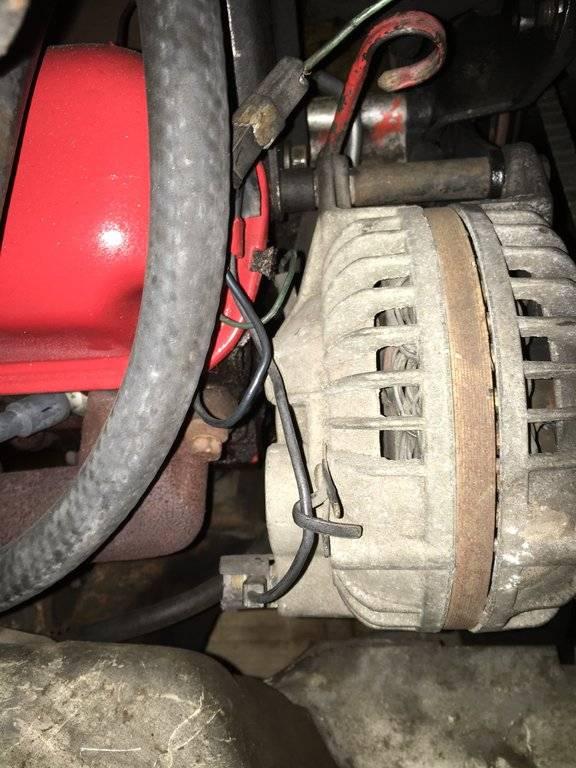 Convert 1968 Dodge Dart 2wire Alternator To 1wire Tuff Stuff Tff 8509ddp For A Bodies Only Mopar Forum