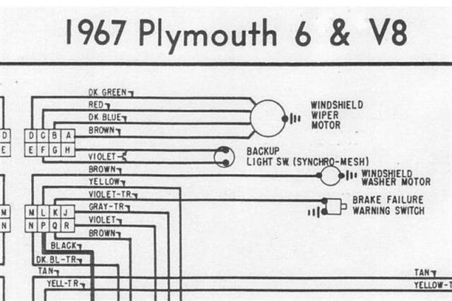 1967 barracuda wiper wiring for a bodies only mopar forum rh forabodiesonly com 1967 plymouth barracuda wiring harness 1967 barracuda wiring harness