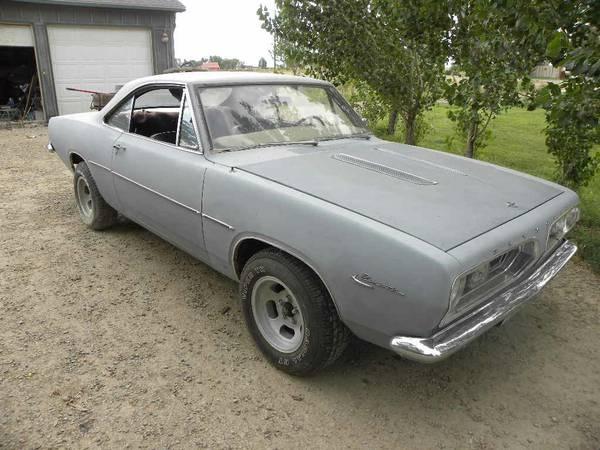 FOR SALE] - Craigslist Find 1967 Plymouth Barracuda Notch