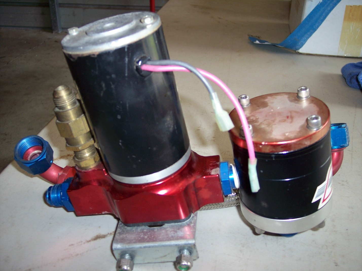 Sold Barry Grant Bg 400 Fuel Pump And Filter For A Bodies Only 2006 Cobalt 3