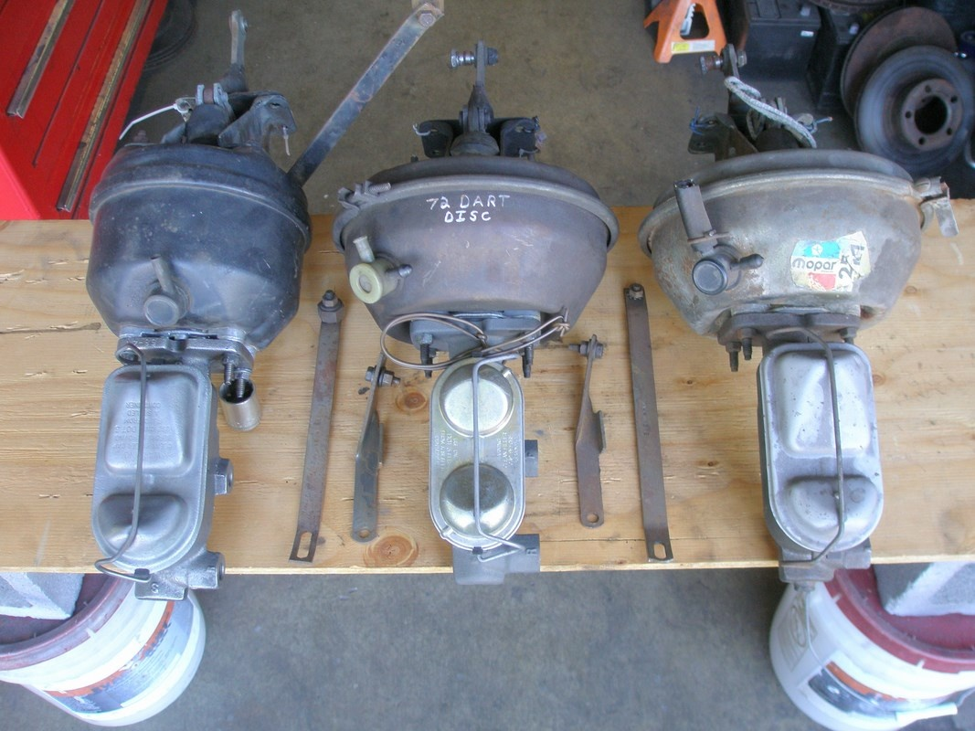 SOLD] - Power Brake Boosters & Master Cylinders, A Body Cars  | For