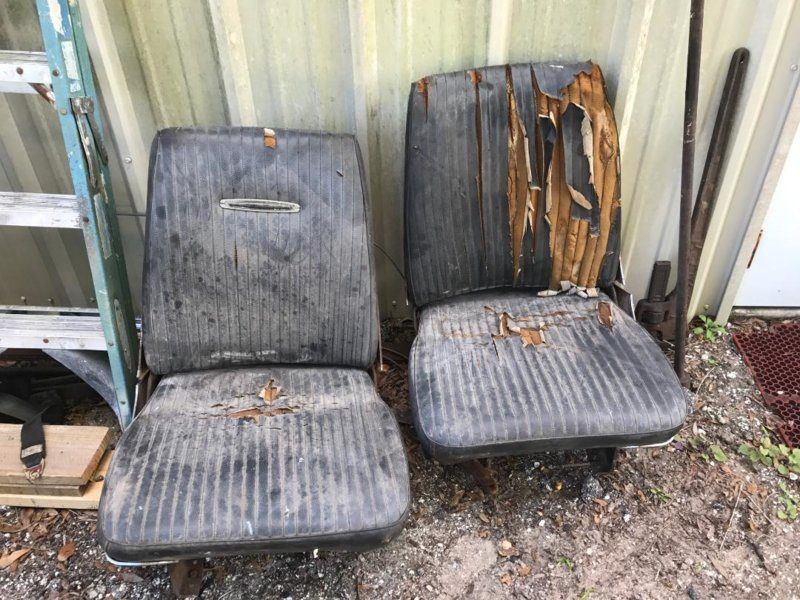 FOR SALE] - 66-67 B Body Bucket Seats | For A Bodies Only