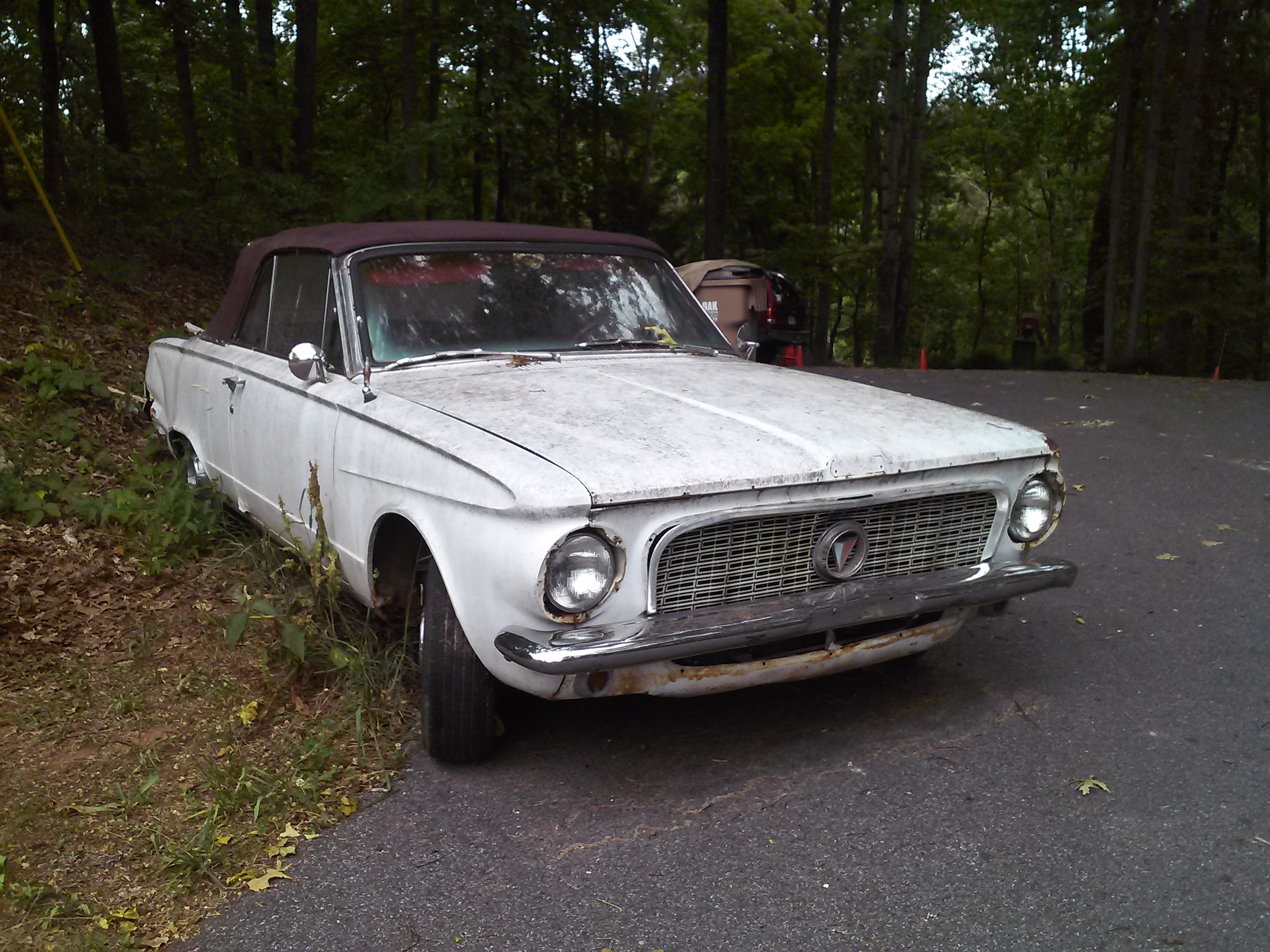 for sale 1963 plymouth valiant signet convertible for parts or restoration for a bodies. Black Bedroom Furniture Sets. Home Design Ideas