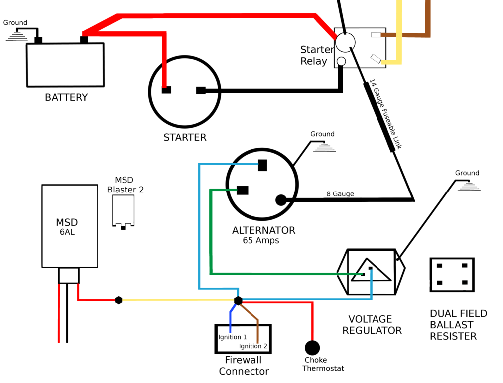 [DIAGRAM_1CA]  Charging System Wiring | For A Bodies Only Mopar Forum | Alternator Wiring Diagram Mopar |  | For A Bodies Only