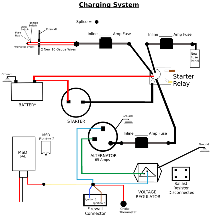 Charging System Wiring