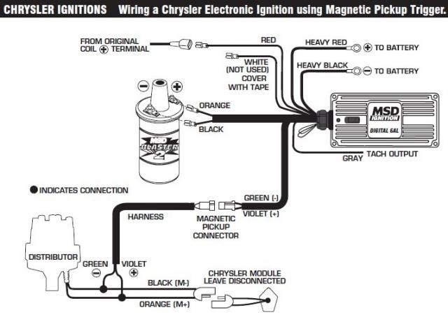 Wire Diagram For Msd 6al