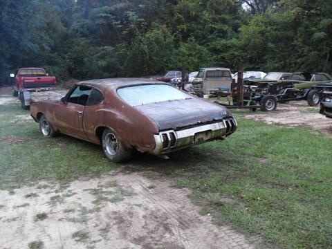 SOLD] - 1972 Olds 442 Parts car (sorry Olds) | For A Bodies
