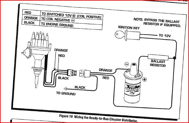 Msd Ignition Question
